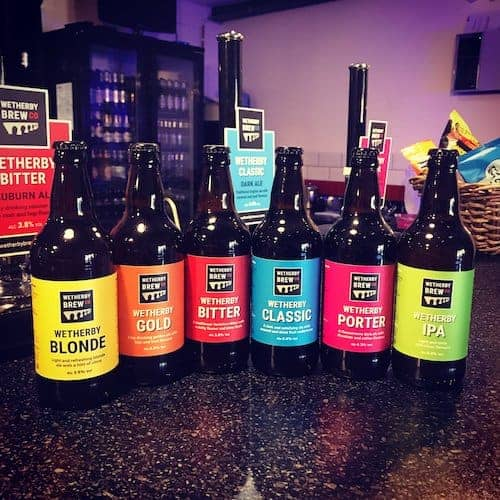 Wetherby Brew Co Bottles