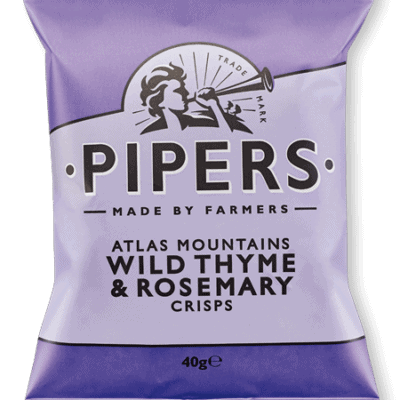 Pipers Crisps Rosemary