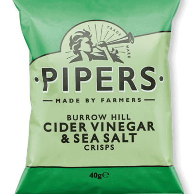 Pipers Crisps Salt & Vinegar
