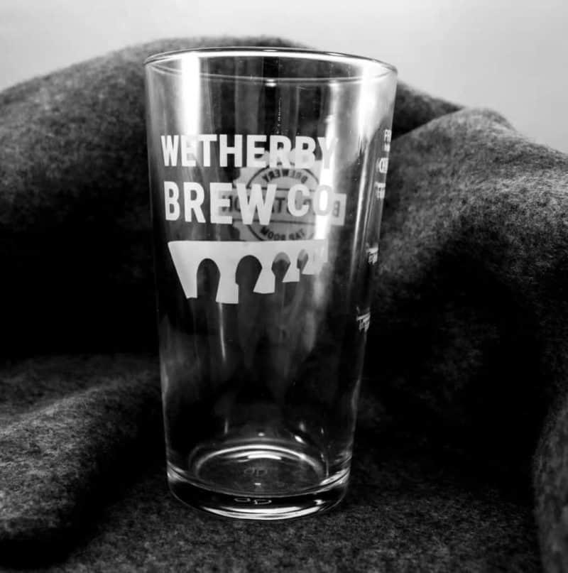 Wetherby Brew Co Glass 1