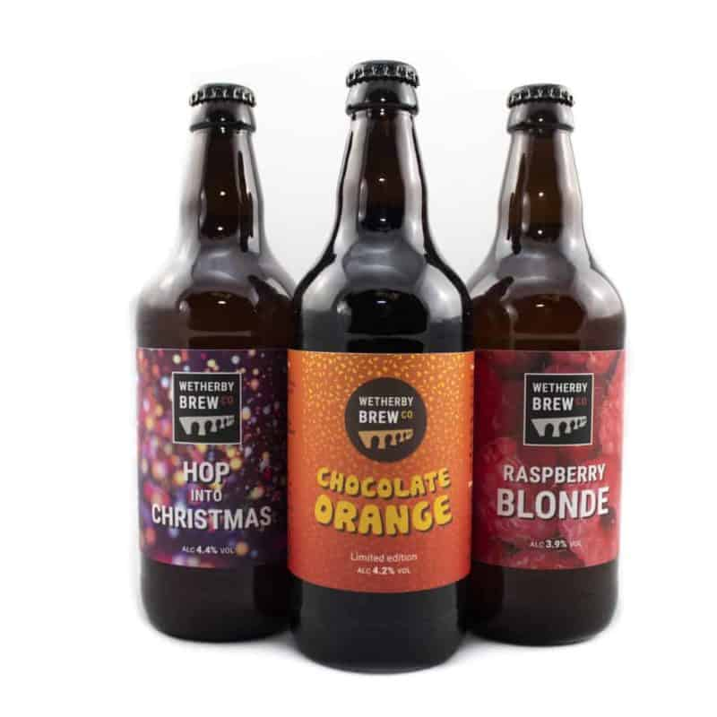 Wetherby Brew Co Christmas Beers