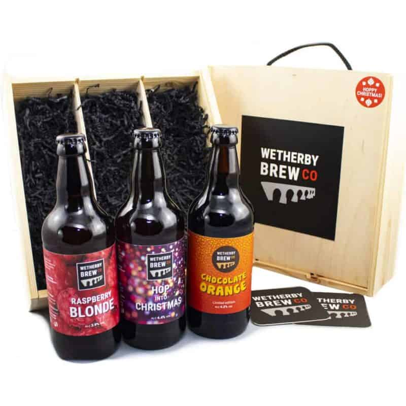 Wetherby Brew Co Gift Pack Wood